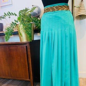 Anthropologie | Maeve Waterfall Pleated Skirt